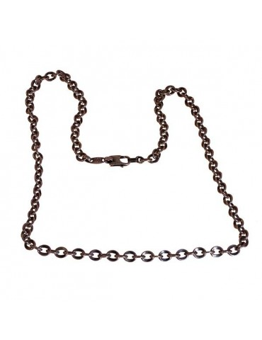 Man chain long 60 cm silver VINTAGE
