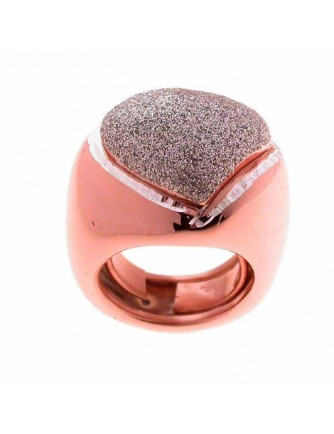 Anello rosè in argento