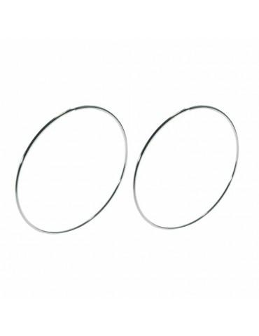 Grandi orecchini a cerchio...