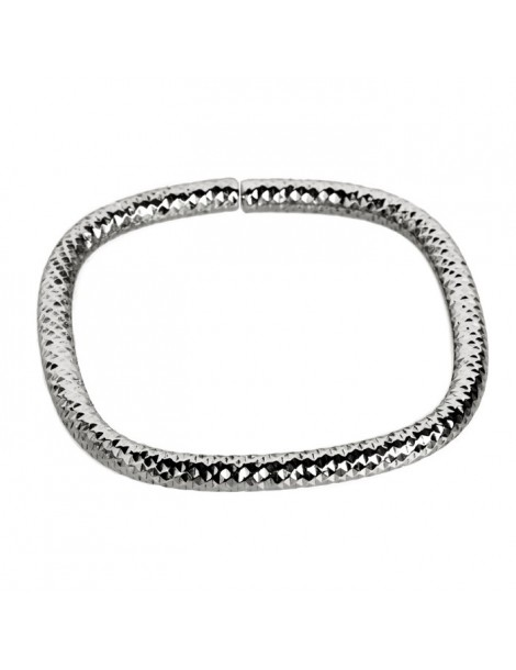 Bracciale tubo flessible in Argento 925/1000