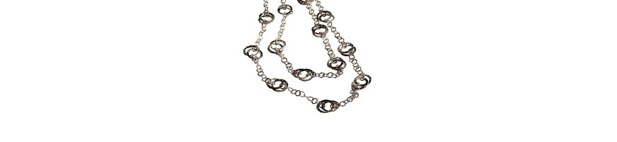 Esclusive finely handmade silver necklaces for women handmade jewelry