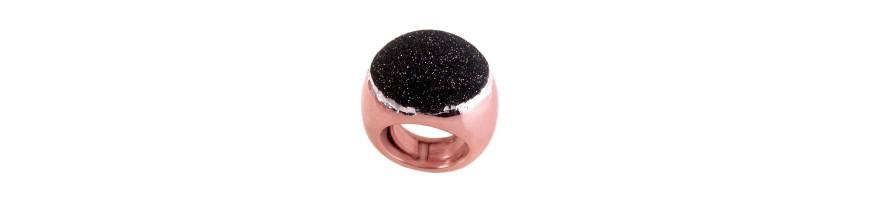 Frau Schmuck, Silber Ringe, bildet große und kleine, Schnurrhaare und Breitbandringe , Ringe exklusiven Silber